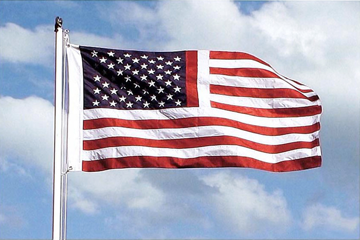 Colin Greenly, Memorial Flag